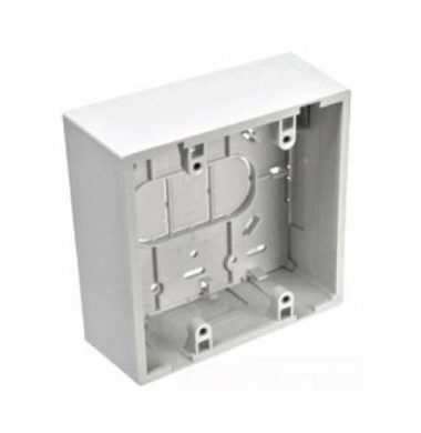 Leviton 42777-2WA US Style 48mm Surface Mount Box (Double Gang)