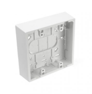 Leviton 42777-2WB US Style 37mm Surface Mount Box, Double Gang