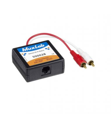 MuxLab 500028 Stereo Hi-Fi Audio Balun (Pair)
