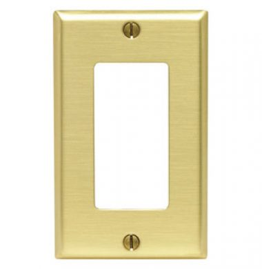 Leviton 81401 US Style Single Gang Decora Faceplate