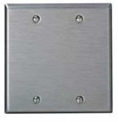 Leviton 84025 US Style Double Gang Blanking Plate