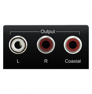 Blustream DAC12AU Digital to Analogue Converter (DAC) – Simultaneous Analogue and Digital Output