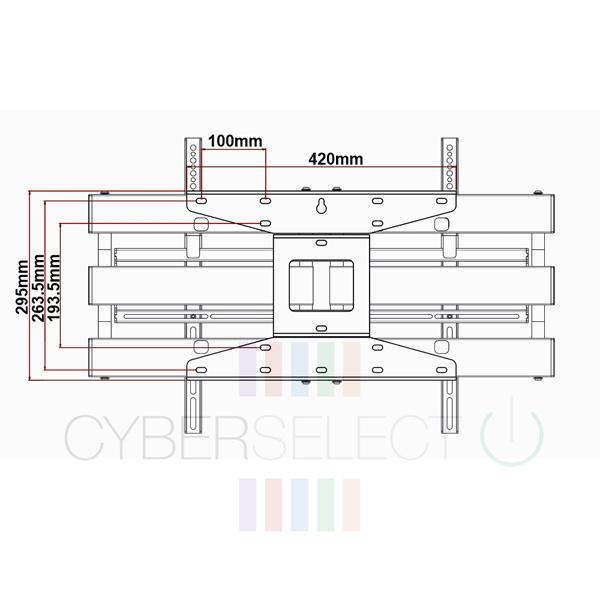 cyberselect cs-3255ab slim