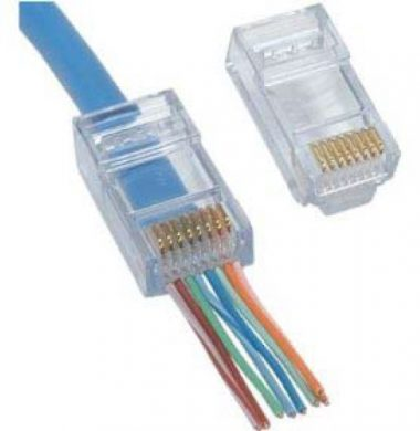 Platinum 100010 EZ-RJ45 Cat.6 Plugs (Pack of 10)