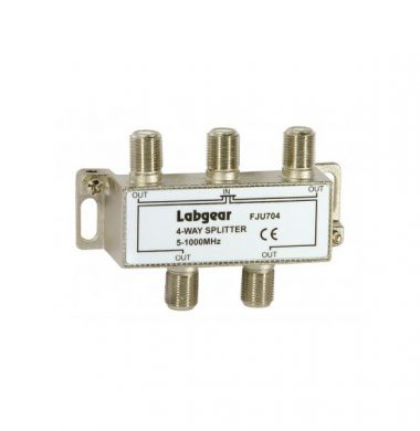 Labgear FJU704 4 Way Splitter for UHF