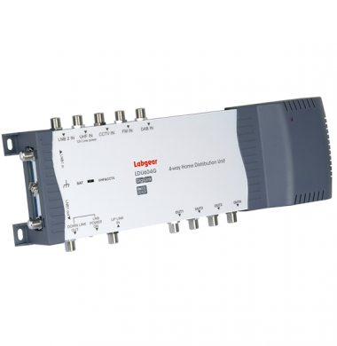 Labgear LDU604G 4 Way Home Distribution Amplifier