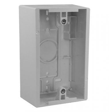 Leviton 42777-1WA US-style 48mm Surface Mount Box, Single Gang
