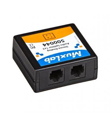MuxLab 500044 1×3 Stereo Analog Audio Splitter