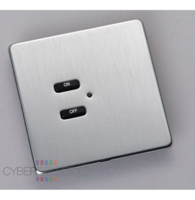 Rako RLF-020-SS Screwless Faceplate for RCN and RNC Keypad Series