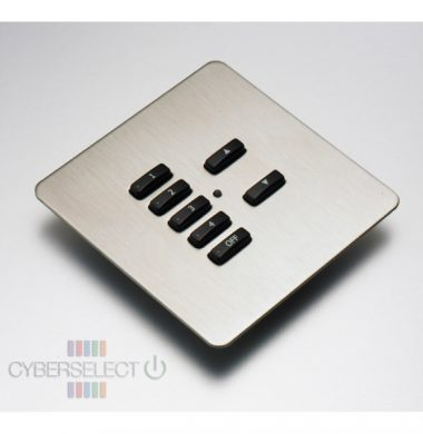 Rako RLF-070-SS Faceplate for RCM and RNC Series Keypads