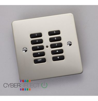 Rako RVF-100-MSS Faceplate for RCM and RNC Series Keypads
