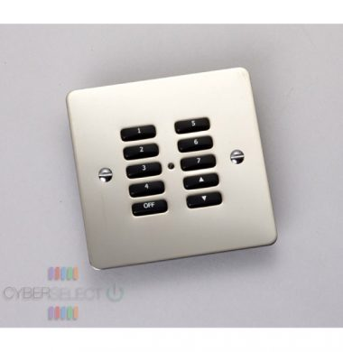 Rako RVF-100-SS Faceplate for RCM and RNC Series Keypads