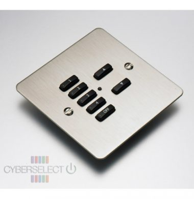 Rako RVF-070-SS Faceplate for RCM and RNC Series Keypads
