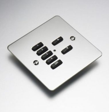 Rako RVF-070-MSS Faceplate for RCM and RNC Series Keypads