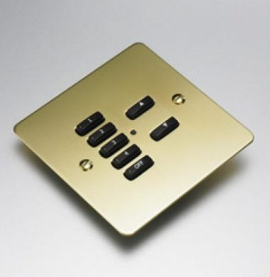 Rako RVF-070-PB Faceplate for RCM and RNC Series Keypads