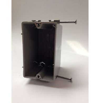 S1-18R US Style 1 Gang Plastic Backbox
