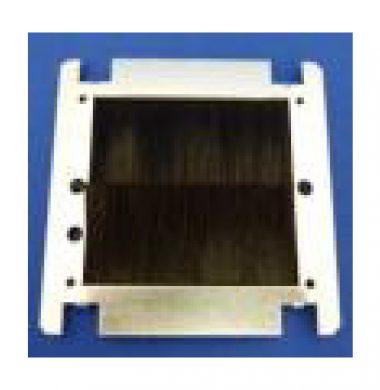 Single UK Brush Adapter Plate (Black)
