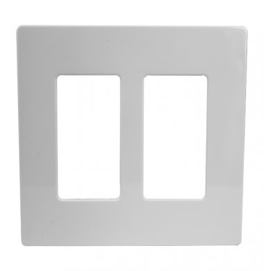 Lutron SWP-2 US style Double Gang Screwless Wallplate