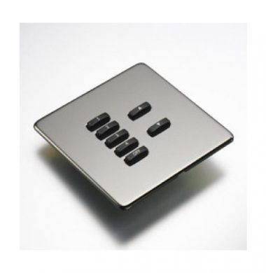Rako WLF-070-BN Faceplate for WCM Series Keypads
