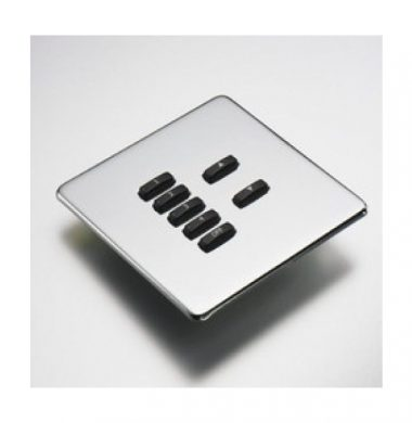 Rako WLF-070-MSS Faceplate for WCM Series Keypads
