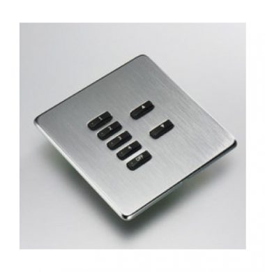 Rako WLF-070-SS Faceplate for WCM Series Keypads
