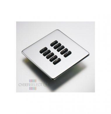 Rako WLF-100-MSS Faceplate for WCM Series Keypads
