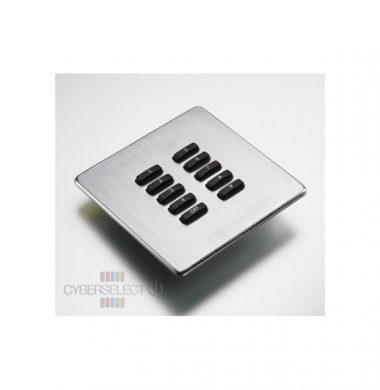 Rako WLF-100-SS Faceplate for WCM Series Keypads
