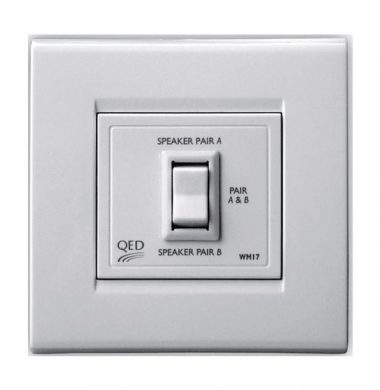 QED WM17 2 Way Series Wall Mounted Switch