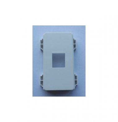 Leviton QuickPort 1-Port Decora Insert for UK Faceplate