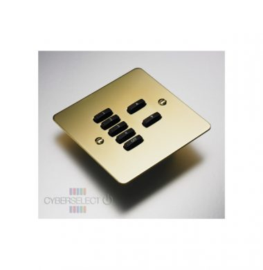 Rako WVF-070-PB Faceplate for WCM Series Keypads