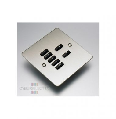 Rako WVF-070-SS Faceplate for WCM Series Keypads