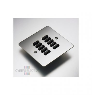 Rako WVF-100-MSS Faceplate for WCM Series Keypads