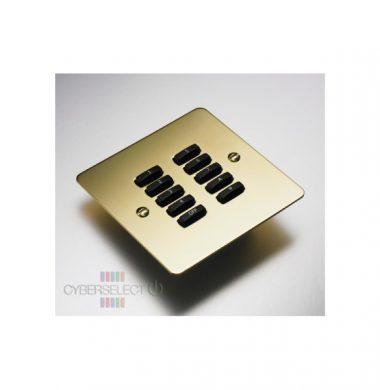Rako WVF-100-PB Faceplate for WCM Series Keypads