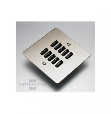 Rako WVF -100-SS Faceplate for WCM Series Keypads
