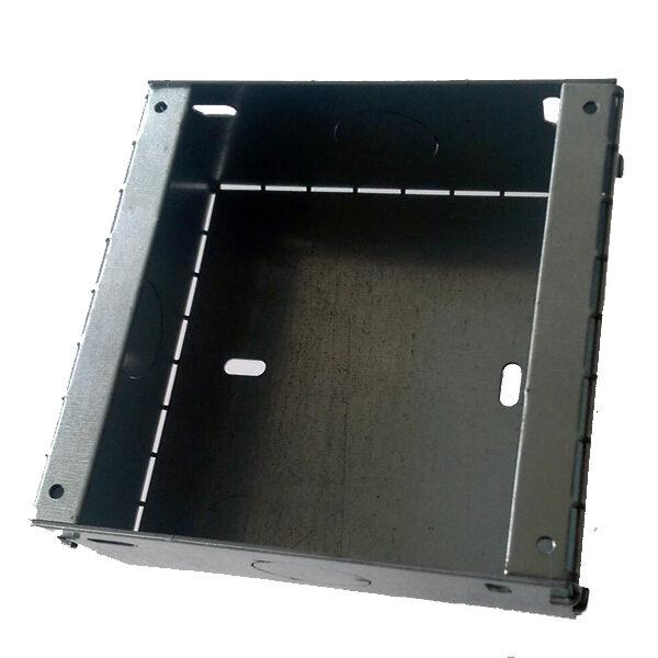 iPortWall Backbox front.