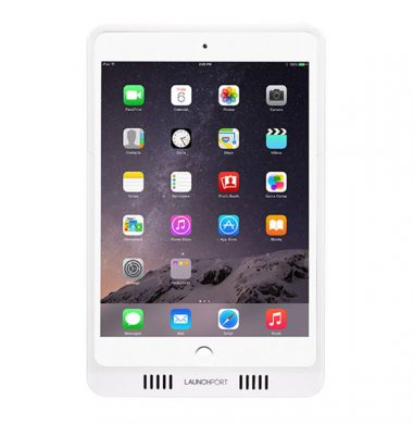 LaunchPort AM.2 iPad Mini 1,2,3,4 Power Sleeve with Retina – White