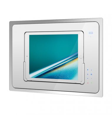 iRoom iBezel-5 Motorised in Wall Touchscreen iPad Docking Station