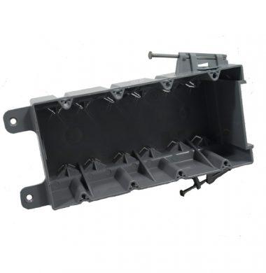 S4-68-RAC US Style 4 Gang  Backbox