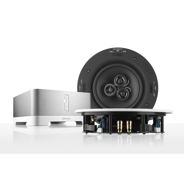 how to connect sonos amp to speakers