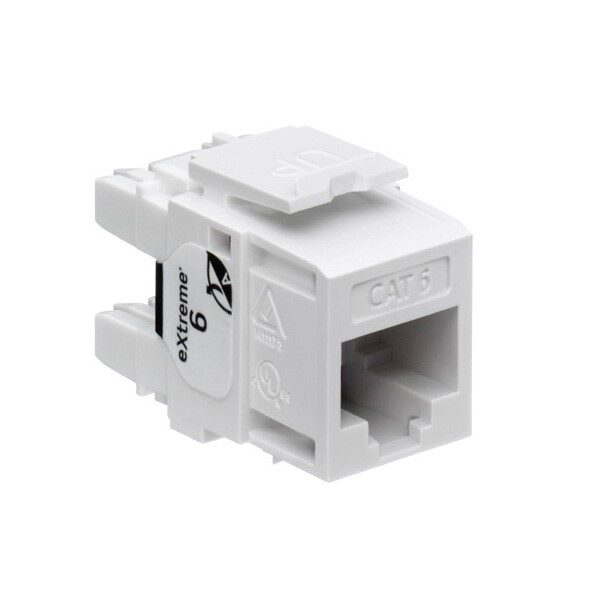 Leviton 61110-RW6 US Style Cat6 Connector