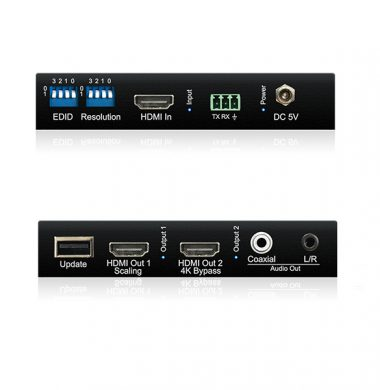 Blustream SC12SP HDMI 4K HDCP 2.2 compliant splitter-scaler
