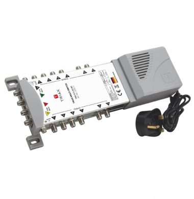 Triax TMS 512 SE AQ-BS Multiswitch with Quad / Quattro LNB Support