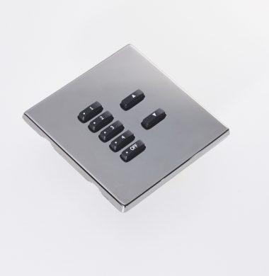 Rako RLM FocusSB Wireless Cover Plate Black Nickel