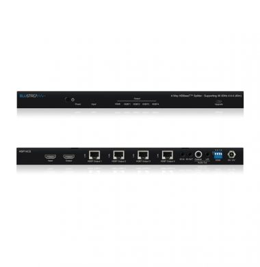 Blustream HSP14CS 4-Way HDBaseT™ CSC Splitter – 70m (4K 60Hz 4:4:4 up to 40m)