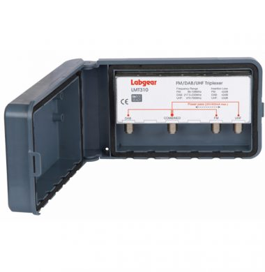 Labgear LMT310 Triplexer, FM / DAB / UHF