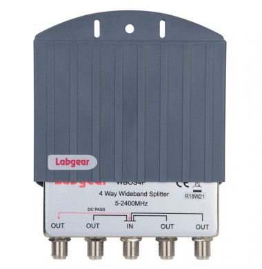 Labgear WB0S4F 4 way Wideband Splitter