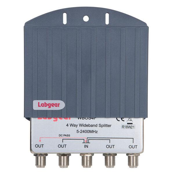 Labgear WB0S4F 4 way Wideband Splitter