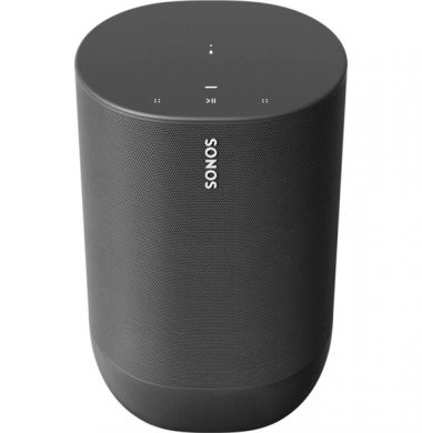 Sonos Move Portable Bluetooth Speaker – Black